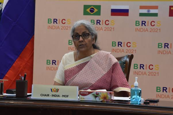 FM chairs 2nd BRICS Finance Ministers and Central Bank Governors Meeting