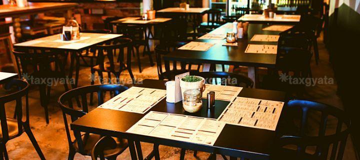 GST on restaurant services