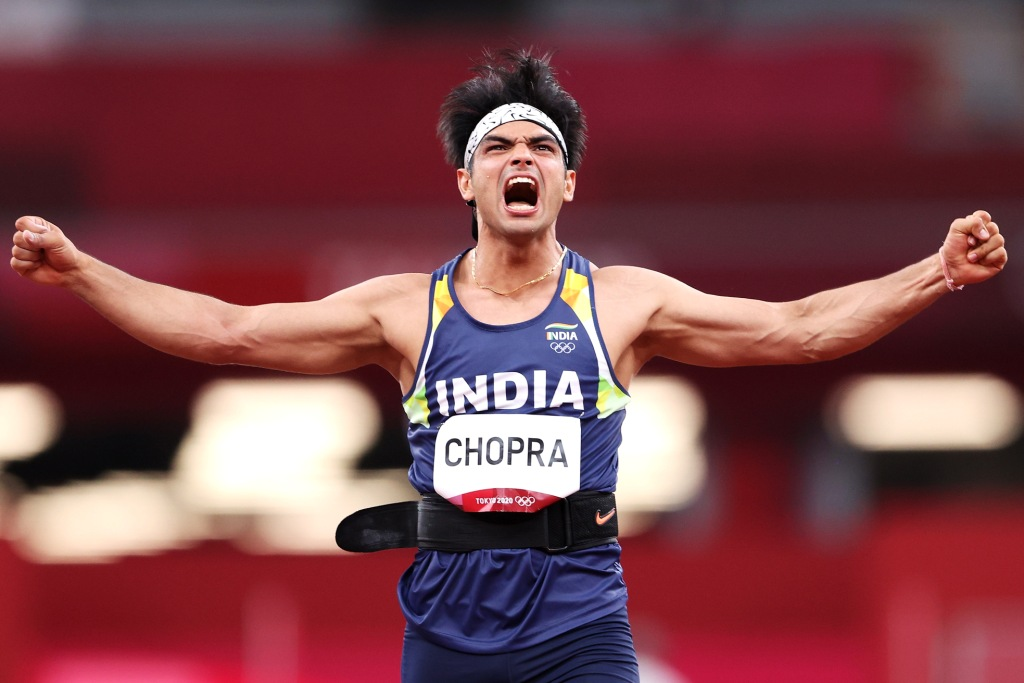 Javelin thrower Neeraj Chopra becomes first Indian to win Olympic Gold in Athletics