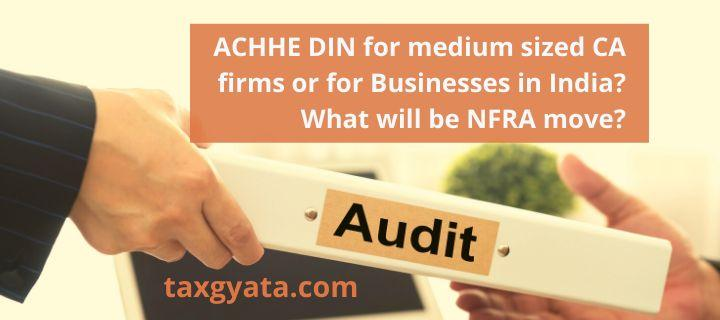 Need to revisit the compulsory statutory audit requirement for all companies: NFRA